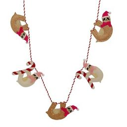 6ft. Christmas Sloth Garland by Ashland® | Michaels Stores