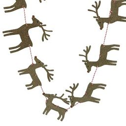 6ft. Reindeer & Santa Sleigh Garland by Ashland® | Michaels Stores
