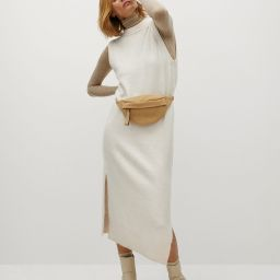 Fine knitted dress | MANGO (US)