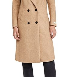 Tailored Double Breasted Coat | Shopbop