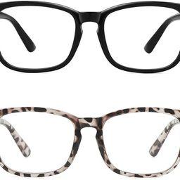 MEETSUN Blue Light Blocking Glasses, Anti Eye Strain Headache (Sleep Better),Computer Glasses UV4... | Amazon (US)