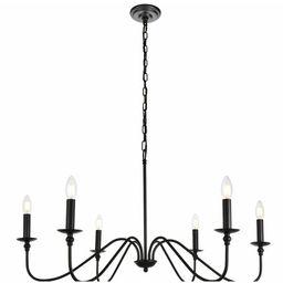 Hamza 6 - Light Candle Style Chandelier | Wayfair North America