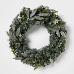 22in Mixed Pretty Eucalyptus Wreath - Wondershop™ | Target