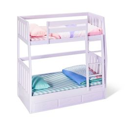 """Our Generation Bunk Beds for 18"""" Dolls - Lilac Dream Bunks   Target"""