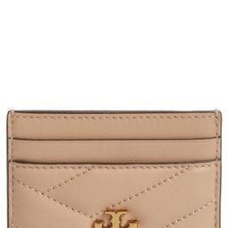 Kira Chevron Leather Card Case | Nordstrom