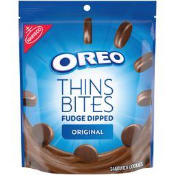 OREO Thins Bites Fudge Dipped Chocolate Sandwich Cookies, Original Flavor, 1 Resealable 6 oz Pack...   Walmart (US)