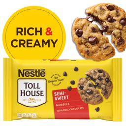 Nestle Toll House Semi-Sweet Chocolate Chip Morsels 24 Oz. Bag - Walmart.com   Walmart (US)