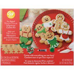 Wilton Ready to Decorate Gingerbread Cookie Kit - Walmart.com   Walmart (US)