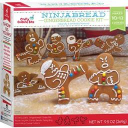Ninjabread Gingerbread Cookie Kit 9.5 oz - 10-12 Cookies - Walmart.com   Walmart (US)