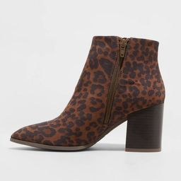Women's Luella Block Heeled Fashion Boots - A New Day™   Target