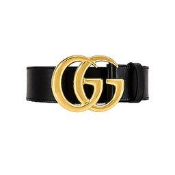 Gucci GG Belt in Black   FWRD