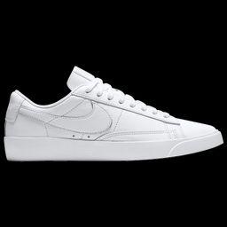 Nike Womens Nike Blazer Low - Womens Shoes White/White/White Size 08.5   Foot Locker (US)