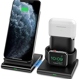 Seneo Wireless Charger, 3 in 1 Wireless Charging Station for Apple Watch, AirPods Pro/2, Detachab...   Amazon (US)