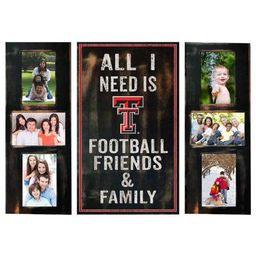 Texas Tech University Picture Frame Set All I Need 3pc Picture Collage | Walmart (US)