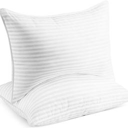 Beckham Hotel Collection Gel Pillow (2-Pack) - Luxury Plush Gel Pillow - Dust Mite Resistant & Hy...   Amazon (US)