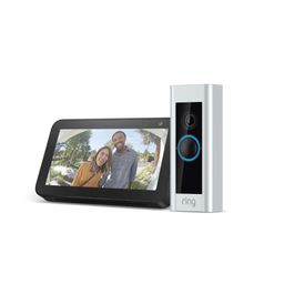 Ring Video Doorbell Pro with Echo Show 5 (Charcoal)   Amazon (US)