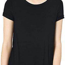 Amazon Brand - Daily Ritual Women's Jersey Short-Sleeve Open Crewneck Tunic   Amazon (US)