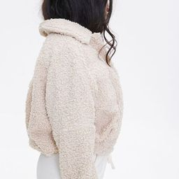 Faux Shearling Jacket   Forever 21 (US)