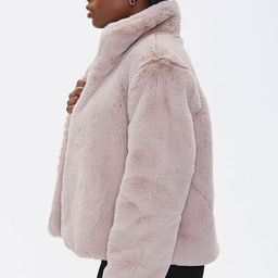 Plush Faux Fur Coat   Forever 21 (US)