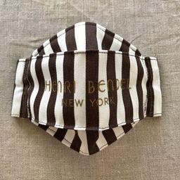 Henri Bendel Centennial Stripe 3D Origami Angled Face Mask  4   Etsy   Etsy (US)