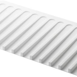 YAMAZAKI home 7445 Self Draining Tray-Drying Board, Dish Drainer Mat, White | Amazon (US)