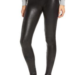 Plus Size Women's Spanx Faux Leather Leggings (Regular, Petite & Plus Size)   Nordstrom