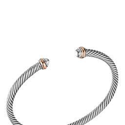 Women's David Yurman Cable Classics Bracelet With 18K Rose Gold   Nordstrom