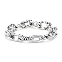 David Yurman Women's Madison Chain Medium Bracelet - Silver - Size Large   Saks Fifth Avenue