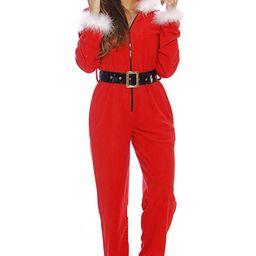 Just Love Holiday Santa Adult Onesie Pajamas | Amazon (US)