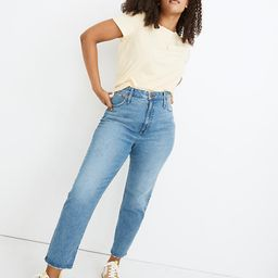 Petite Classic Straight Jeans in Nearwood Wash   Madewell