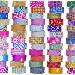 60 Rolls Glitter Washi Tape Set, Washi Masking Decorative Tapes for DIY Decor Planners Scrapbooki...   Amazon (US)