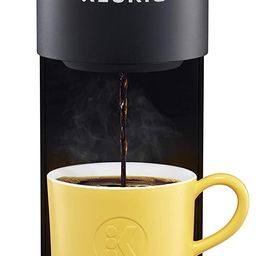 Keurig K-Mini Coffee Maker, Single Serve K-Cup Pod Coffee Brewer, 6 to 12 oz. Brew Sizes, Black   Amazon (US)