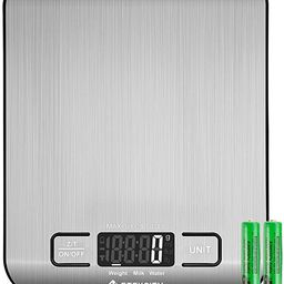 Etekcity Food Kitchen Scale, Digital Grams and Oz for Cooking, Baking, and Weight Loss, Christmas...   Amazon (US)