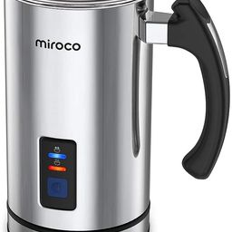 Miroco Milk Frother, Electric Milk Steamer Stainless Steel, Automatic Hot and Cold Milk Frother W...   Amazon (US)