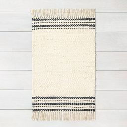 Charcoal Stripe Jute Rug - Hearth & Hand™ with Magnolia   Target