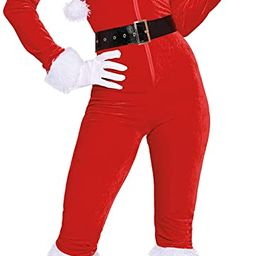 Dreamgirl 11625 Womens Ms. Claus Costume | Amazon (US)