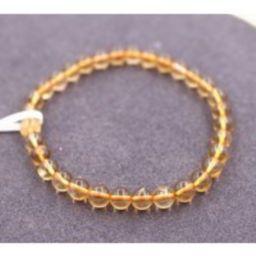 Natural Citrine Beads Bracelet, Size 6mm 8mm Beads Bracelet, Wholesale Beaded Bracelets Supply, Gift   Etsy (US)