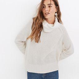 Eastbrook Turtleneck Cross-Back Sweater in Cotton-Merino Yarn | Madewell