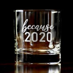 2020 Whiskey Glass Gift, Funny Whiskey Glasses, 2020 Glass, Custom Etched Whiskey Glass, Personal...   Etsy (US)