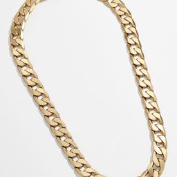 Large Michel Curb Chain Necklace | BaubleBar (US)