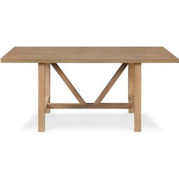 Grant Wood Dining Table Rustic Beige - Finch | Target