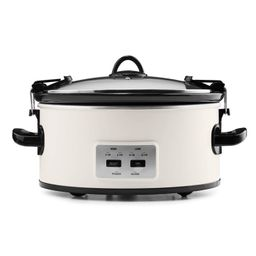 Crock Pot 6qt Cook and Carry Programmable Slow Cooker - Hearth & Hand with Magnolia | Target