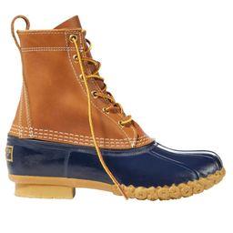 "Women's Bean Boots, 8"" Tan/Blue 11 M(B) | L.L. Bean"