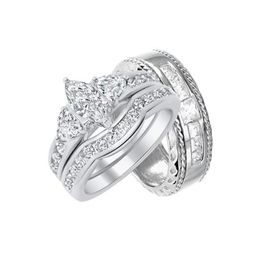 Matching Silver Wedding Bands for Bride and Groom Walmart (5/11) | Walmart (US)