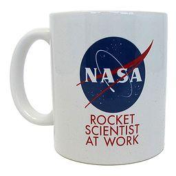 Pyramid America Travel Mugs Multi - White 'Rocket Scientist at Work' NASA Mug   Zulily