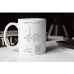 Mars Rover Patent Mug, Nasa, Outer Space, Space Technology Geek Gift, Pp0227   Etsy (US)