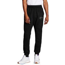 Champion Men's Powerblend Fleece Joggers C Logo | Walmart (US)