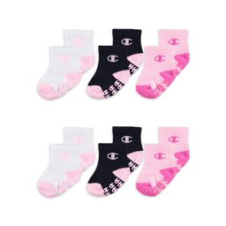 Champion Baby Girl Socks, 6 Pack Ankle Grippers | Walmart (US)