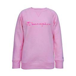 Champion Girls 7-16 Tie Dye Script Crew Fleece Sweatshirt | Walmart (US)