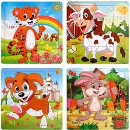 Puzzles for Kids Ages 3-5 20 Piece Wooden Jigsaw Puzzle for Kids Children Learning Educational To... | Amazon (US)